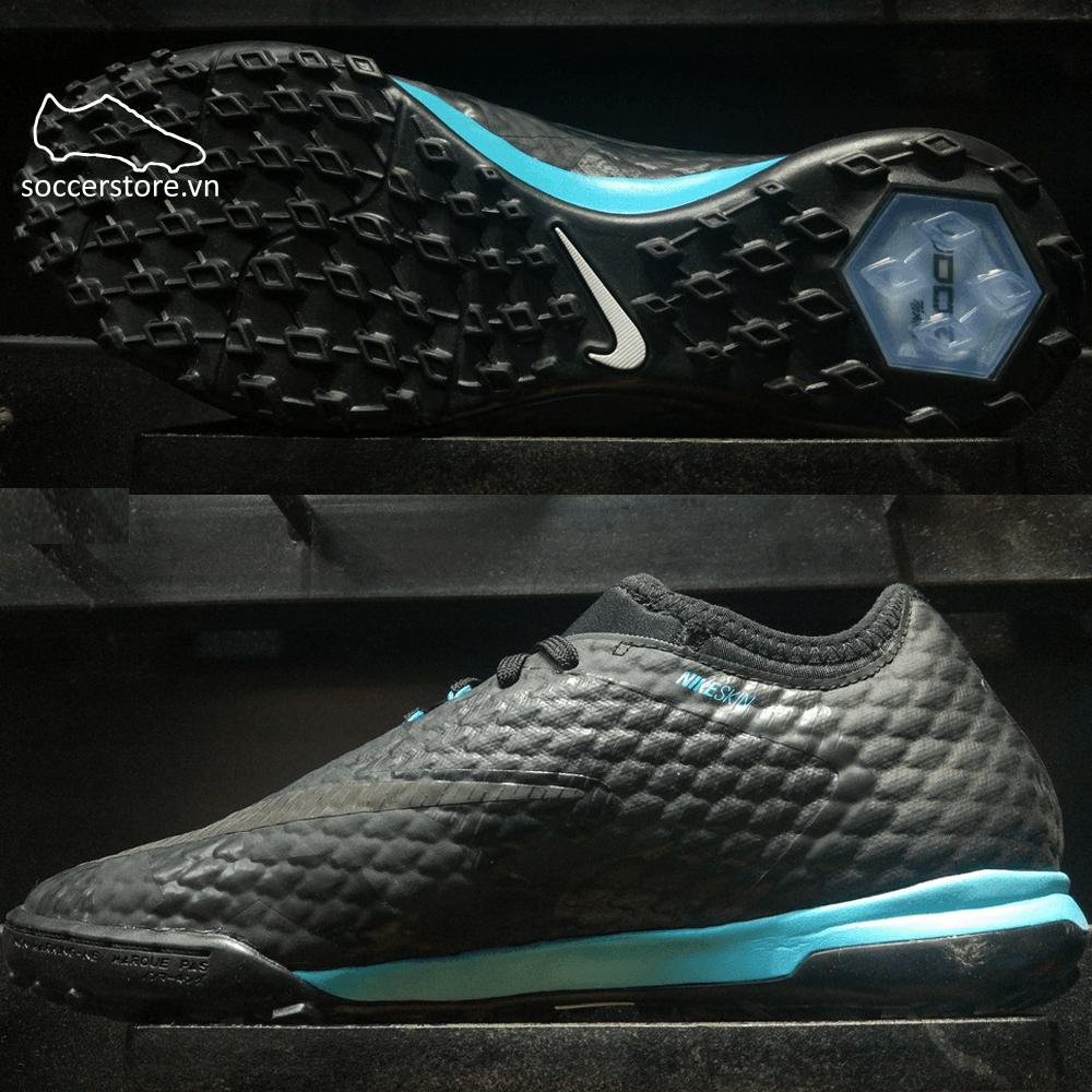 Nike HypervenomX Finale II SE TF- Black/ Gamma Blue 897721-004