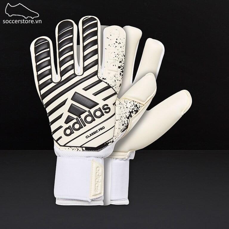 Adidas Classic Pro- White/ Black GK Gloves CW5616