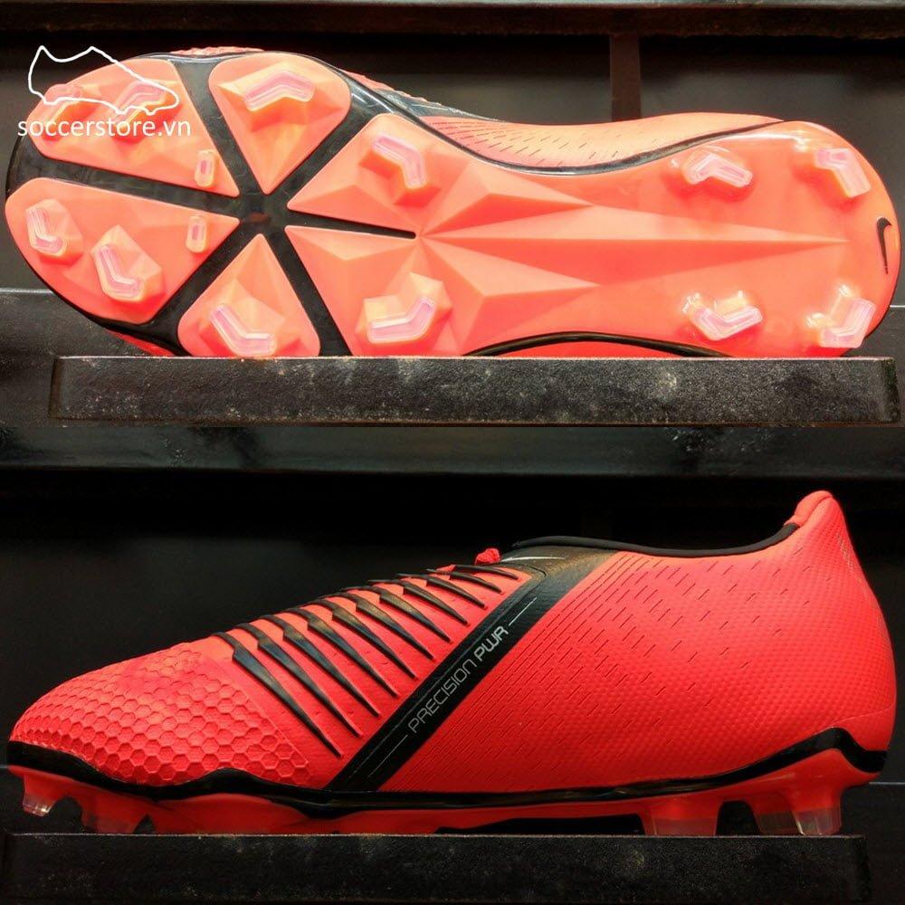 Nike Phantom VNM Elite Kids FG - Bright Crimson/ Black AO0401-600