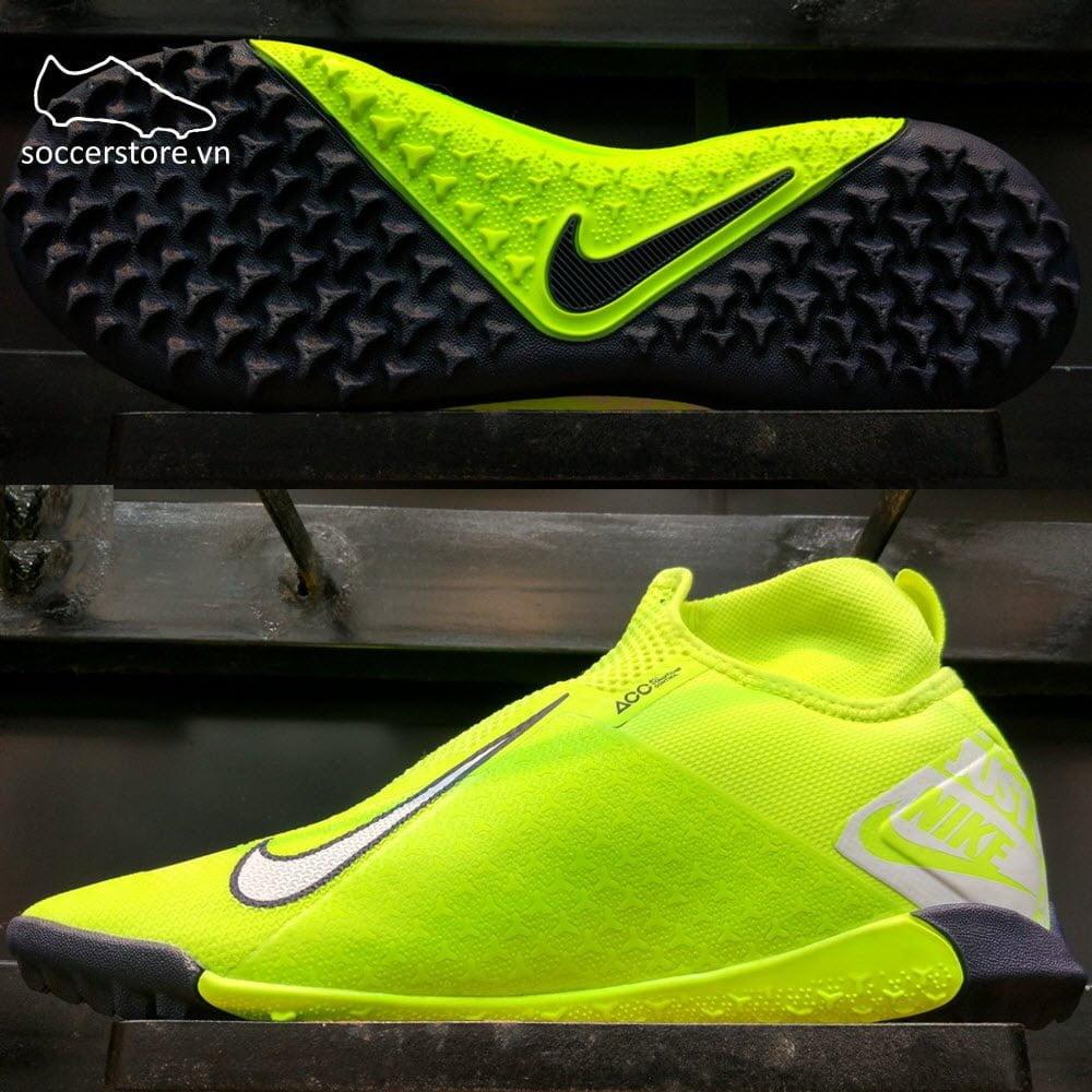 Nike Phantom VSN Pro DF TF- Volt/ White/ Volt AO3277-717