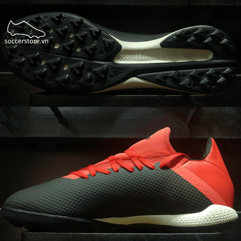 Adidas X Tango 18.3 TF BB9398 Core Black/ Off White/ Active Red
