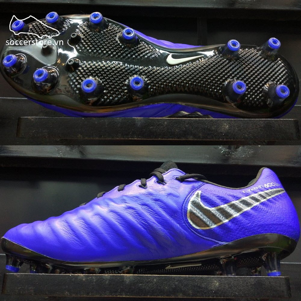 Nike Tiempo Legend VII Elite AG-PRO- Race Blue/ Black/ Metallic Silver AH7423-400