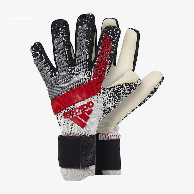 Adidas Predator Pro PC- Silver Metallic/ Black GK Gloves DY2629