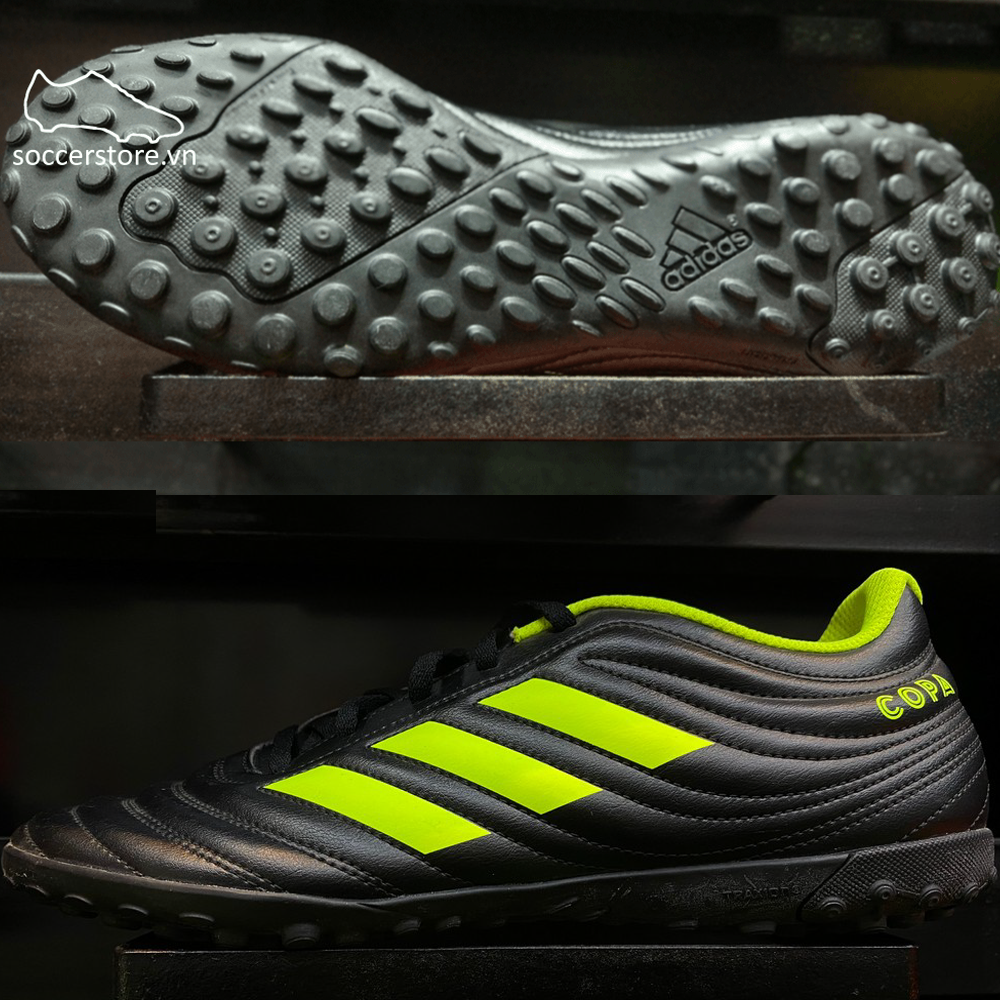 Adidas Copa Tango 19.4 TF- Core Black/ Solar Yellow BB8097