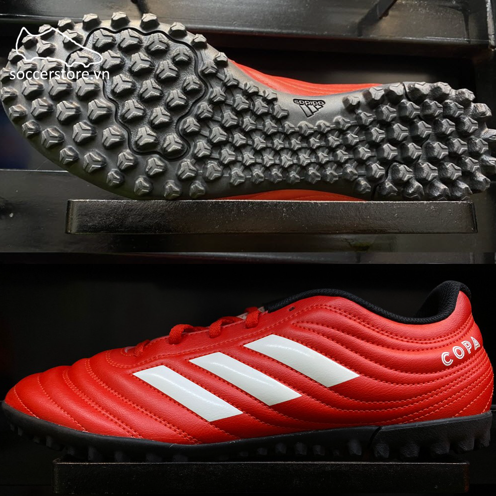 Adidas Copa 20.4 TF - Active Red / Cloud White / Core Black - G28521