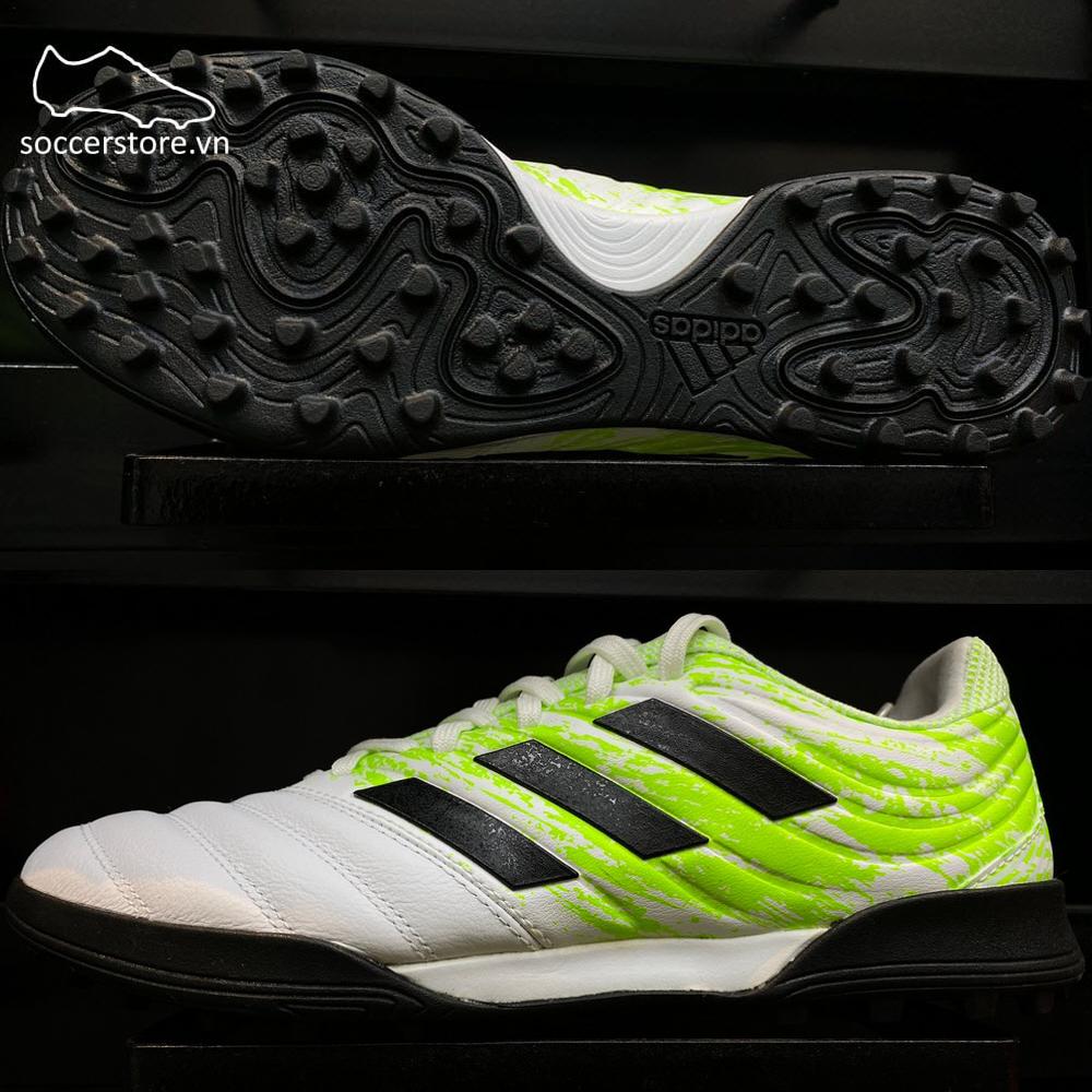 Adidas Copa 20.3 TF Uniforia- White/ Core Black/ Singal Green G28533