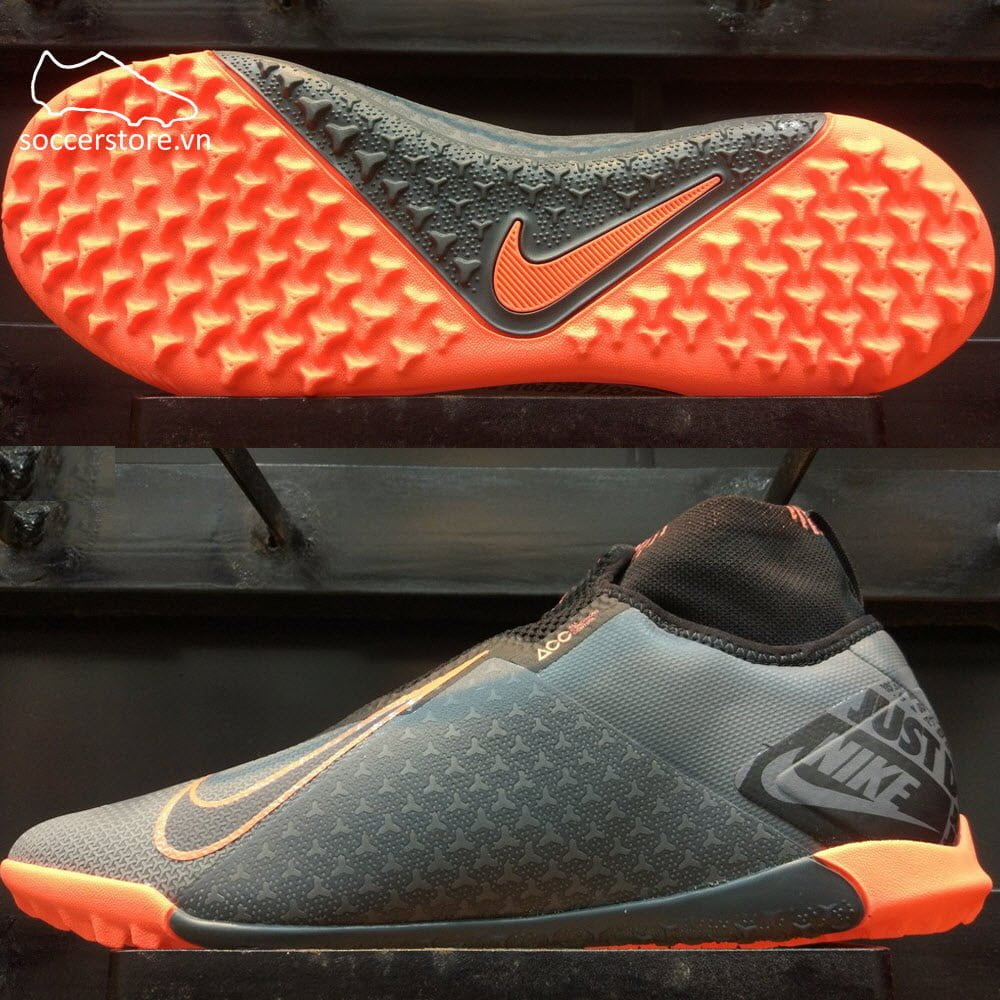 Nike Phantom VSN Pro React DF TF- Dark Grey/ Bright AO3277-080