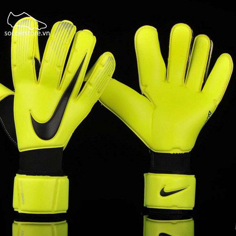 Nike Vapor Grip 3- Volt/ Black GK Gloves GS0352-702