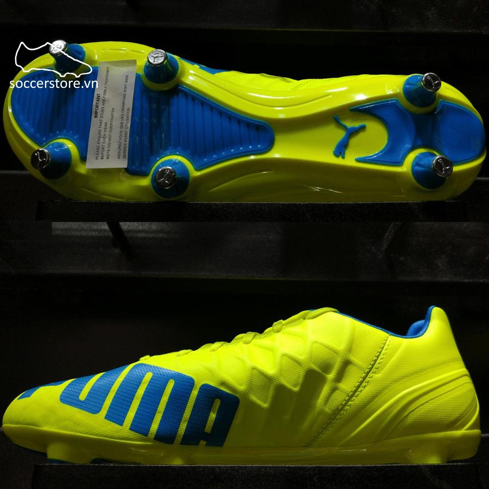 Puma evoSPEED 4.4 SG- Safety Yellow/ Atomic Blue/ White 103270-02