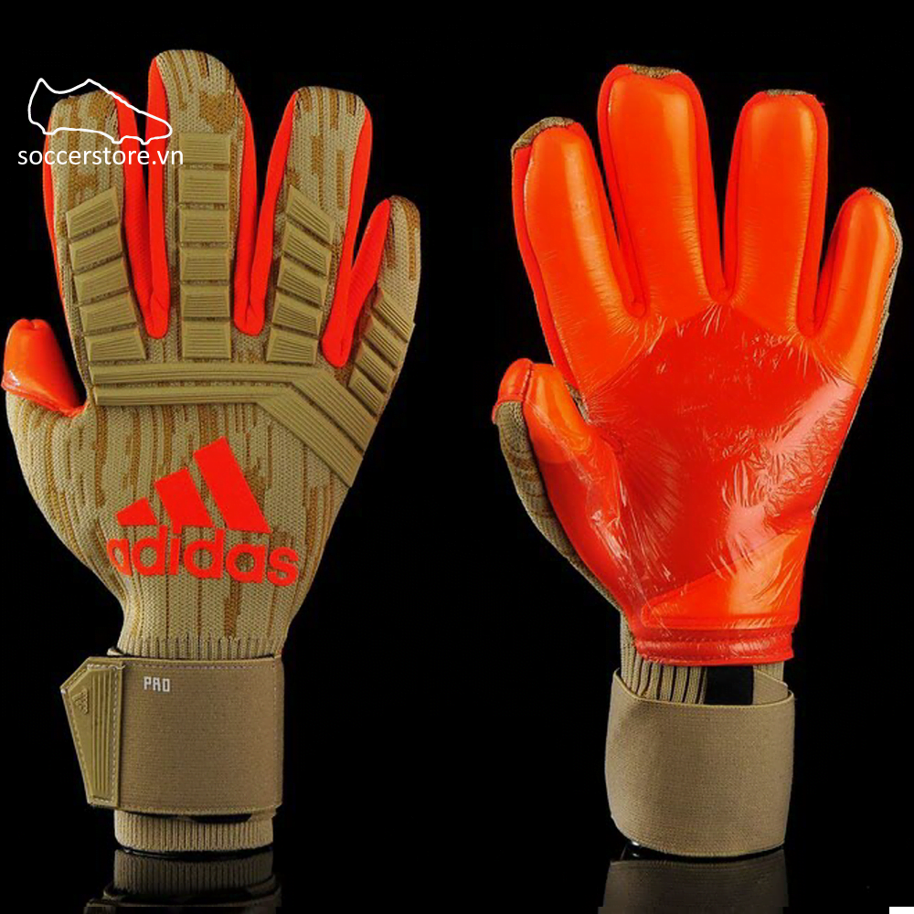 Adidas Predator 78/18- Raw Desert/ Solar Red CW5587