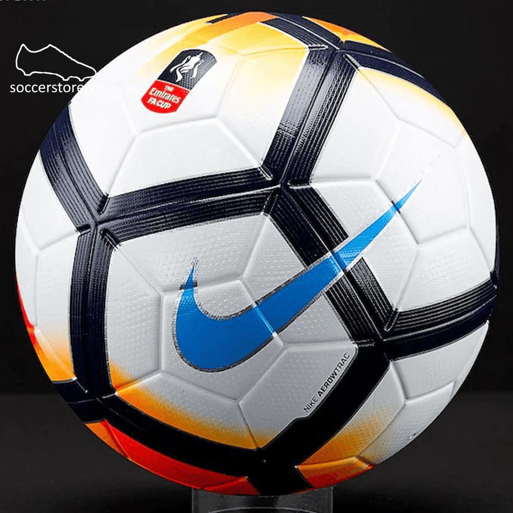 Bóng Nike Ordem V FA Cup-SC3244-100 White/ Bright Mango/ Chlorine Blue