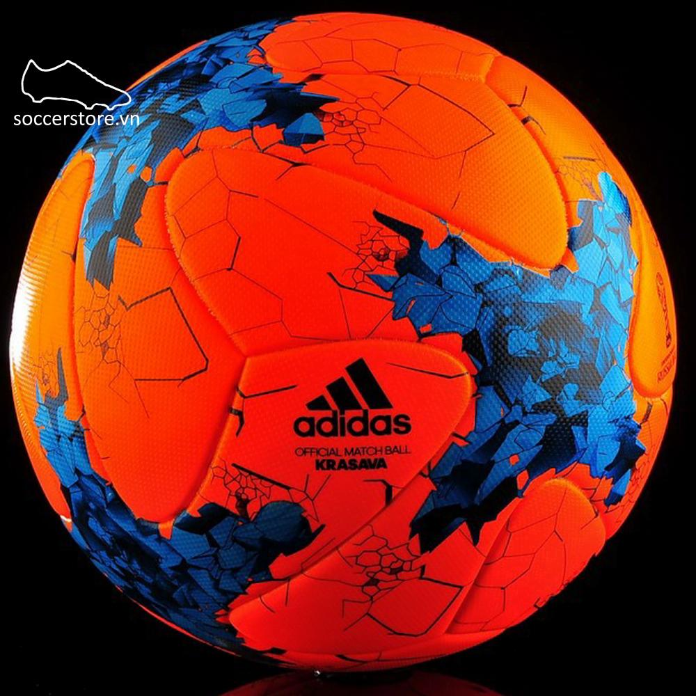 Bóng Adidas Confederation OBM Winter- AZ3206 Orange/ Energy Blue