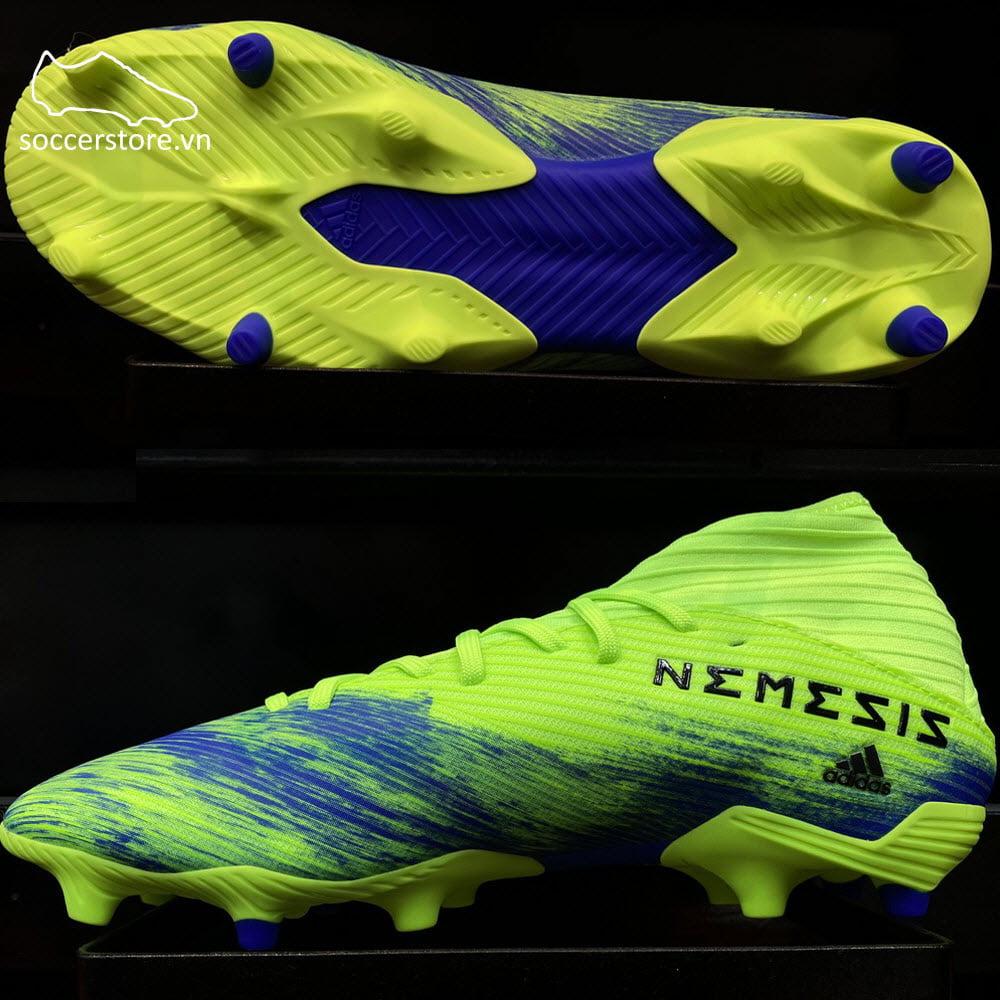 Adidas Nemeziz 19.3 FG Uniforia- White/ Core Black/ Signal Green FV3988