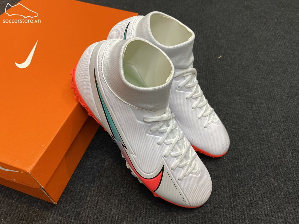 Nike Mercurial Superfly VII Acadeny TF The Nike Flash Crimson pack AT7978-163