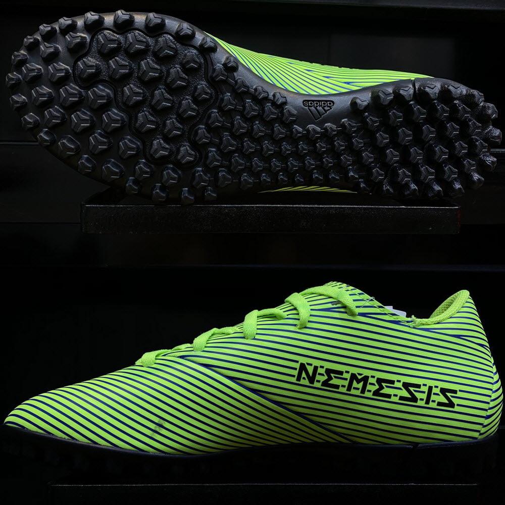 Adidas Nemeziz 19.4 TF Uniforia- Signal Green/ Core Black/ Royal Blue FV3317