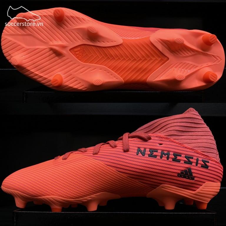 Adidas Nemeziz 19.3 FG InFlight- Signal Coral/ Core Black/ Glory Red EH0300