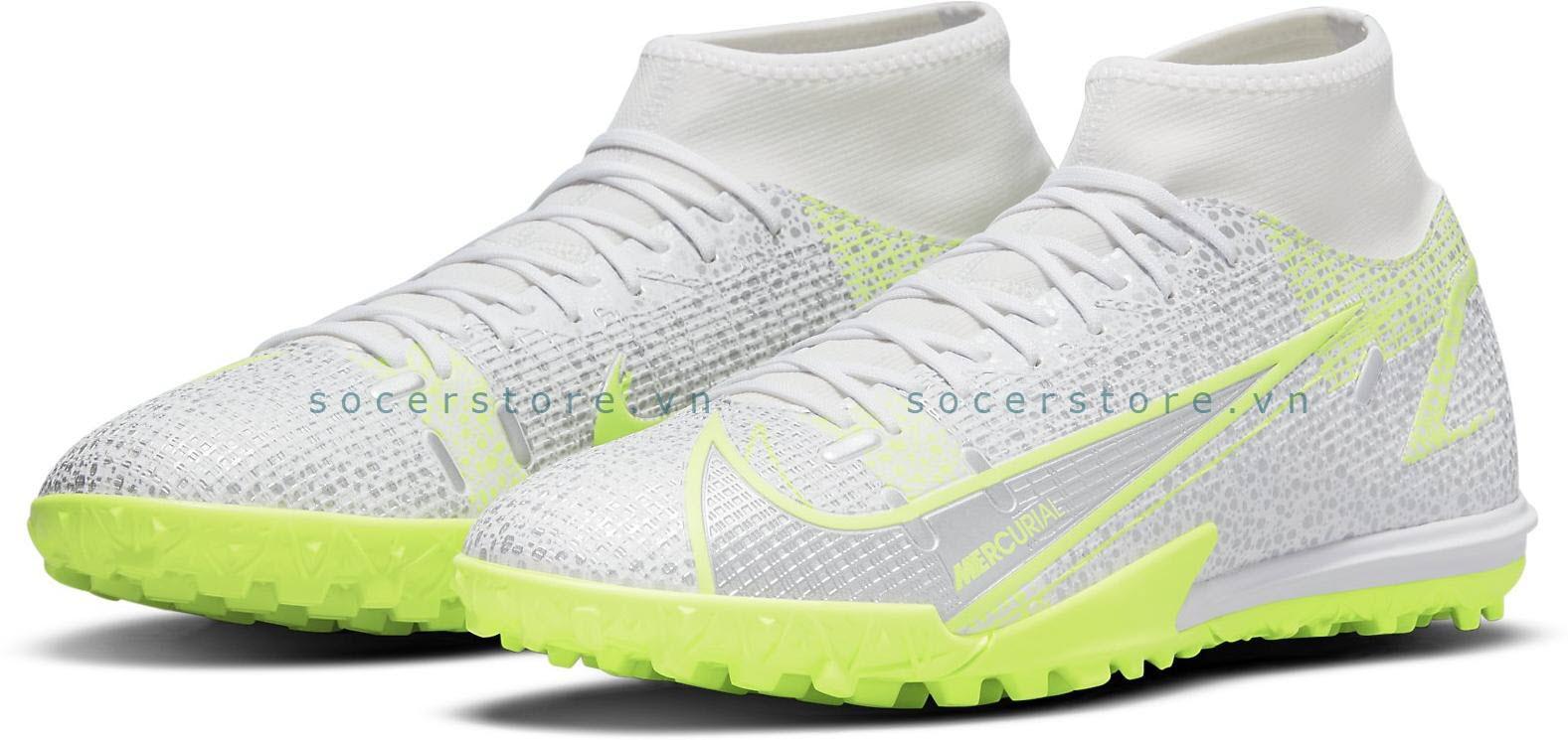 Nike Mercurial Superfly 8 Academy TF Silver Safari CV0953-107