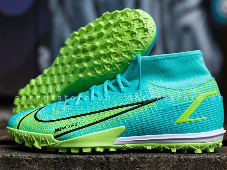 Nike Mercurial Superfly 8 Academy TF Impulse pack- Dynamic Turquoise/ Lime Glow CV0953-403