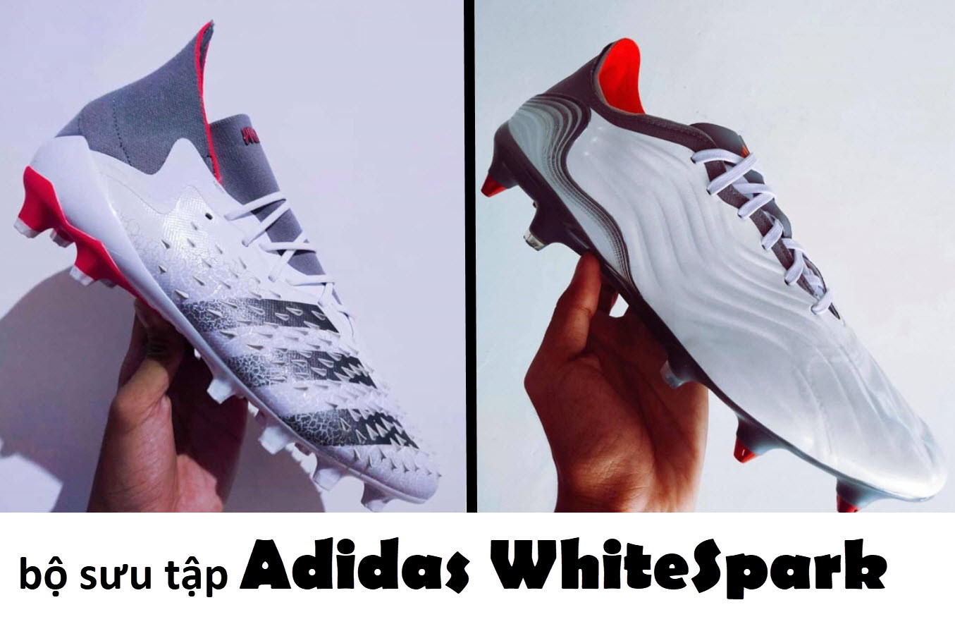 Giày bóng đá Adidas Whitespark pack
