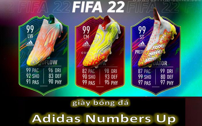 giày bóng đá Adidas Numbers Up